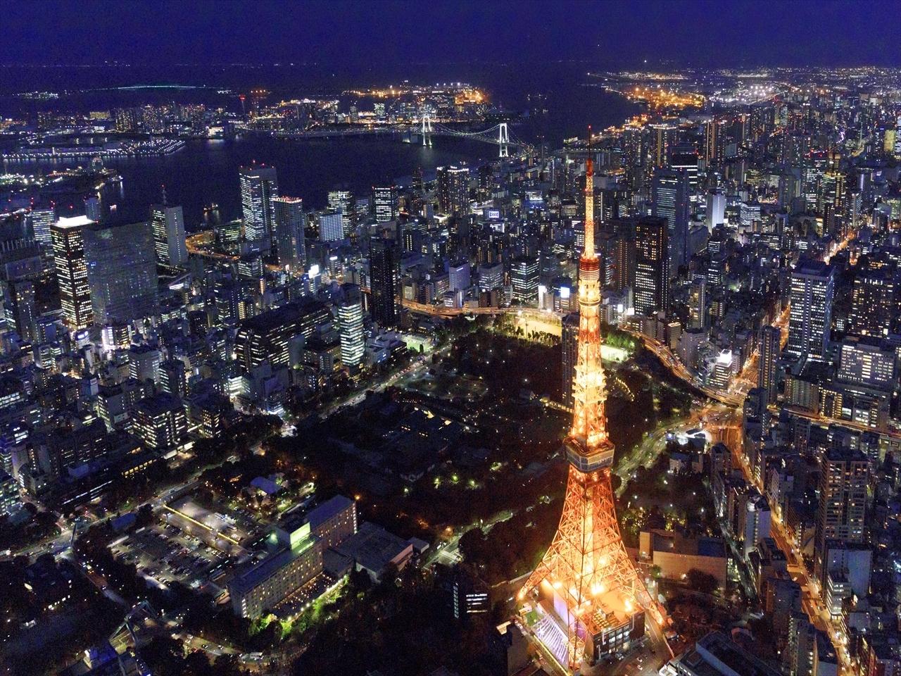 空撮クルーが見た景色 Vol.3 ~東京夜景編~